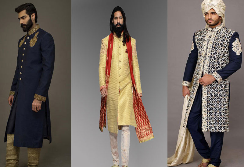 50 Best Latest Men Sherwani Designs 2017 2018 For Excellent Wedding