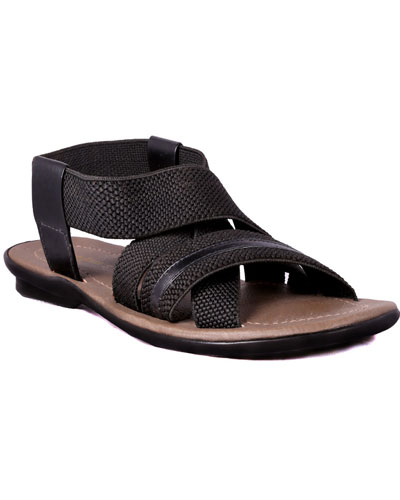 ee84f05741ad These plain black sandals are good for the casual events even you can wear  these sandals in your day to day routine as well. Cool feet assure the cool  mind ...