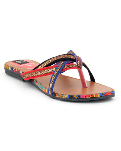 fe51b74c6 Give your summer days a great start with these blue flat sandals. These  flat shows are available in a variety of sizes. Other than this there are  two ...