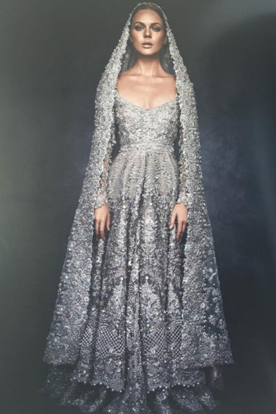 Silver wedding dress good dresses silver color bridal wear 40 elan bridal dresses to wear on your wedding day junglespirit Image collections
