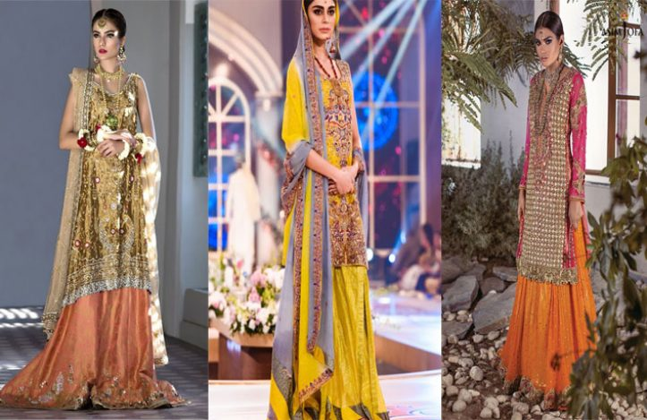 Mehndi Function Dresses : Best mehndi dresses for pakistani brides