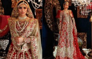 Latest Pakistani Bridal Dresses 2018 By Top Designers