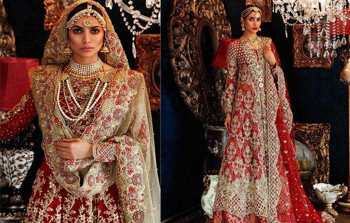 20 Best Pakistani Red Bridal Dresses Perfect For Barat Day