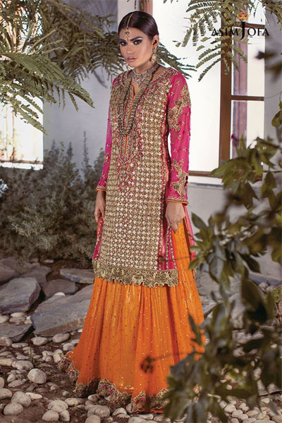 b8f4914ace 18 Best Pink Pakistani Bridal Dresses
