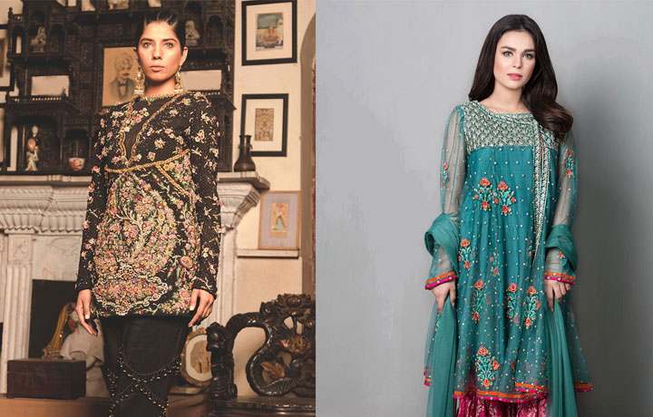 43 Best Latest Pakistani Party Wear Dress Designs 2018