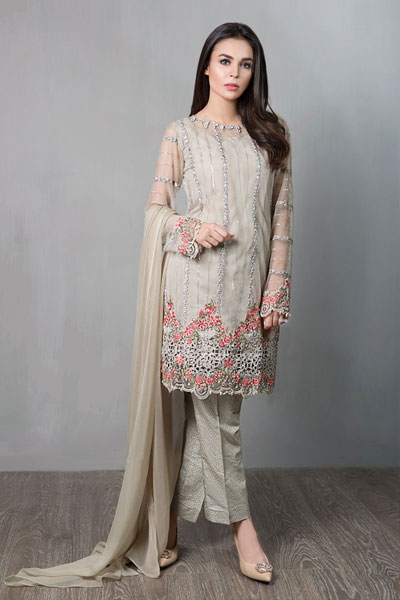 7ff0dae5a4 67 Best Latest Pakistani Party Wear Dress Designs 2019