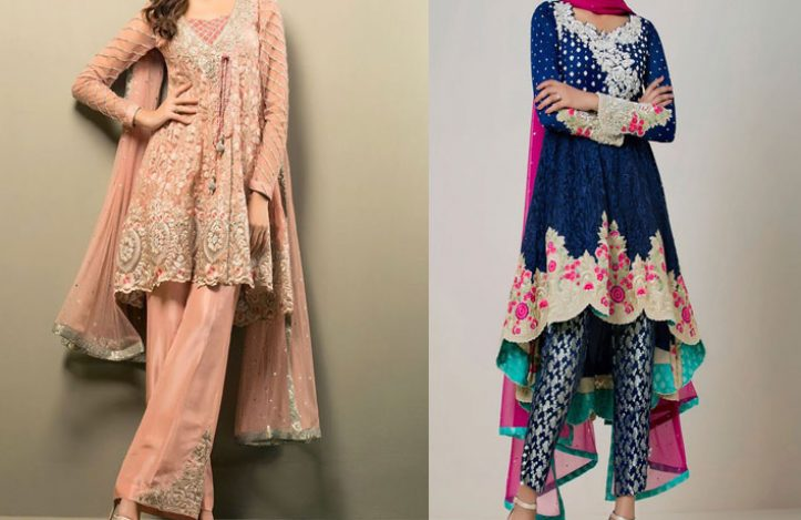 41 Latest Trendy Frock Designs By Top Pakistani Designers