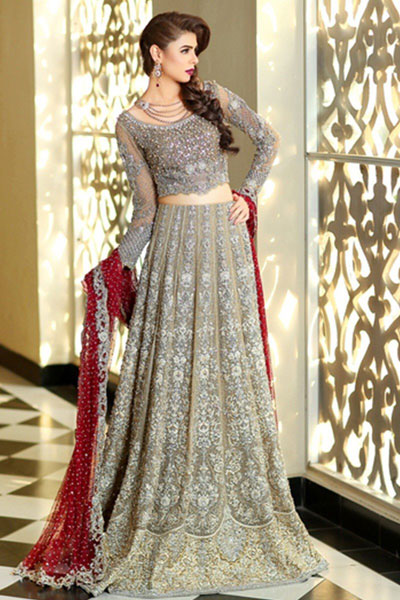 39 Latest Maria B Bridal Dress Design 2018